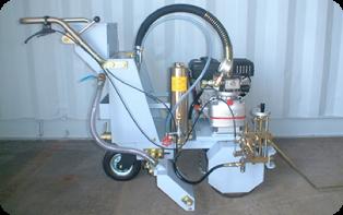 ペイント式ハンドマーカー機 (エアレス式)の写真