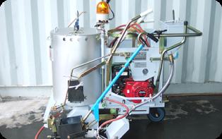 左右兼用自走式ライン施工機 (GM-401-EP)の写真