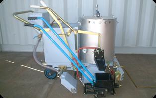 手押しライン引き施工機 (GM-201)の写真