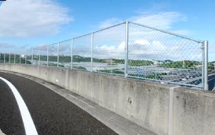 防護柵・フェンス資材の写真